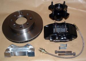 MG Midget 240mm vented disc brake kit