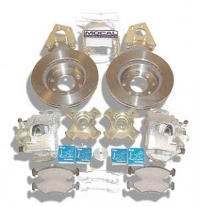 Uprated Vented Disc Brake Kit